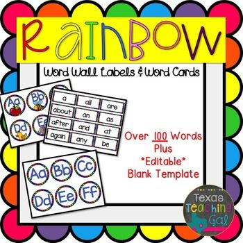 The 25+ best Word wall labels ideas on Pinterest Word walls - labels word template