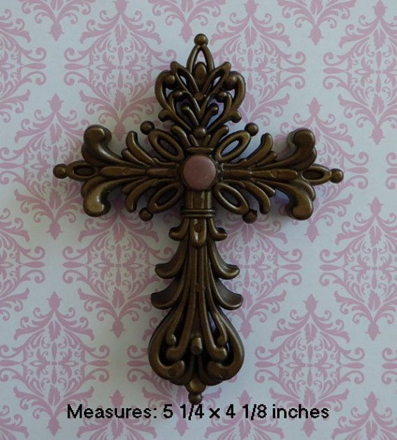 Cross Crucifix Confirmation First Communion Silicone Mold Fondant Chocolate Candy Cake Decorating Tool Cake Topper Resin Polymer Clay Craft