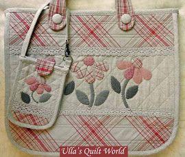 Quilt táska - japán patchwork