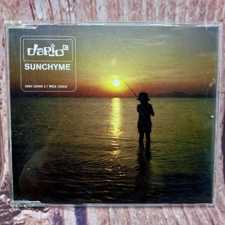 Dario G  Sunchyme CD radio original chyme 1997 warner Music songs single tracks