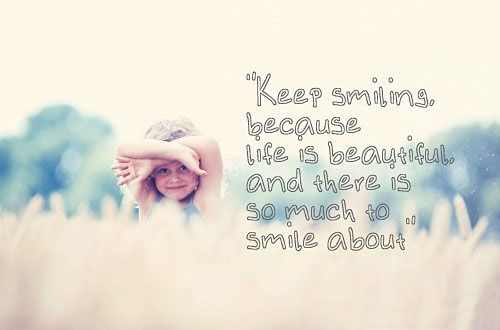 "Smile Quote #19 ""Keep smiling, because life is beautiful and there is so much to smile about."" Gluck Orthodontics - 2002 Richard Jones Road, Suite A-200, Nashville, TN 37215 Phone: 615 269 5903 #smilequote #smile #gluckorthodontics"