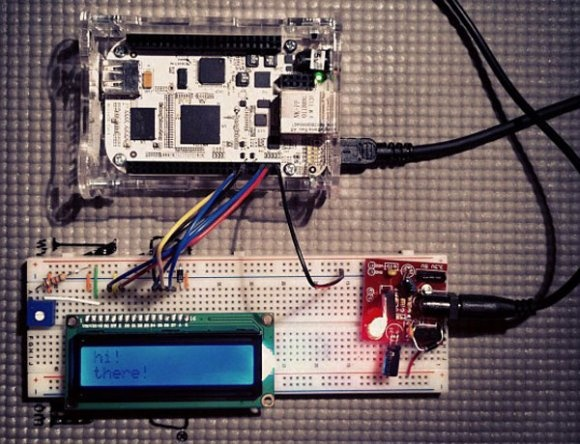 How-to: LCD controlled by beaglebone