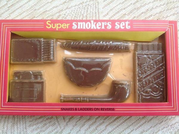 chocolate smokers set