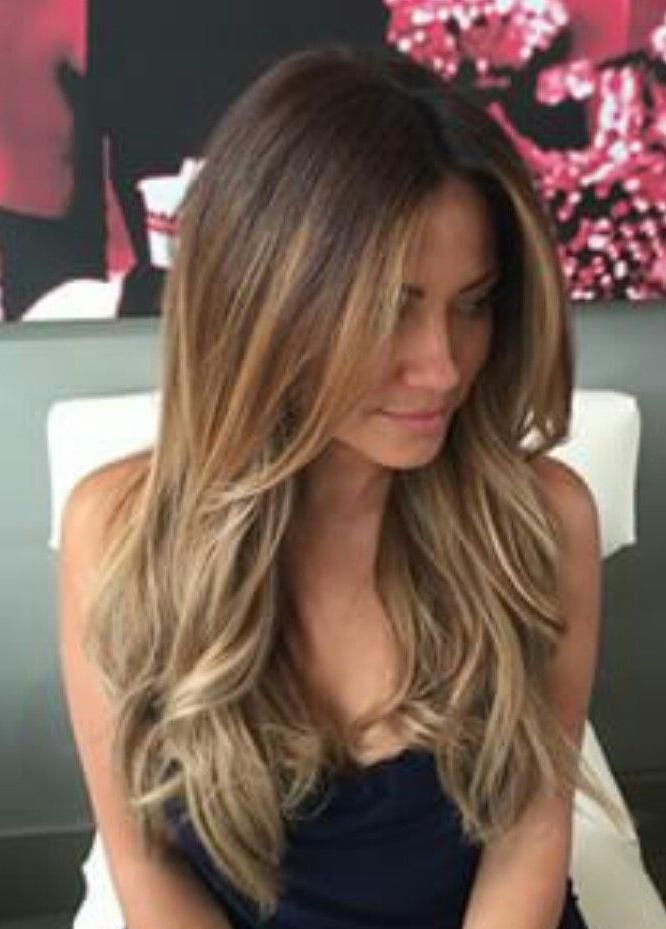 2017 Long Haircuts Layers And Bangs With Regard To Best 25 Long Layered Bangs Ideas Hair Styles Long Hair Styles Haircuts For Long Hair With Layers