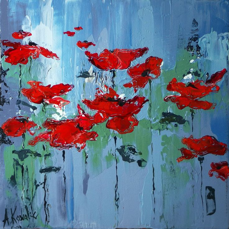 Poppies04 by szklanytygrys on deviantART