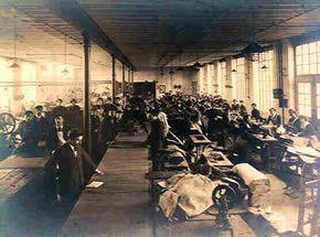 Briggs tent factory
