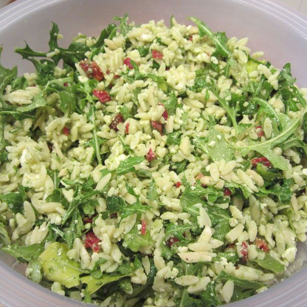 ... Salads! on Pinterest | Italian dressing, Spinach and Orzo salad