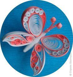 Картина панно рисунок Квиллинг Розы Бумага гофрированная Бумажные полосы фото 6