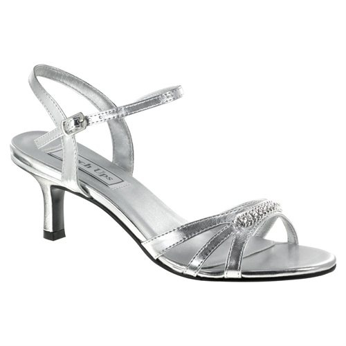 Silver Touch Ups Diane Bridal Shoes