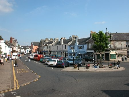 Strathaven, Lanark, Scotland, where my great-great-great grandmother was from.