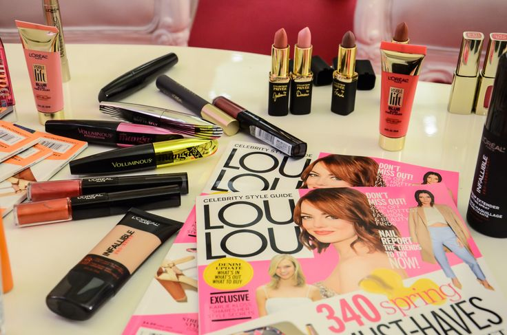 Makeup madness during our Casting Crème Gloss VIP experience in Toronto!
