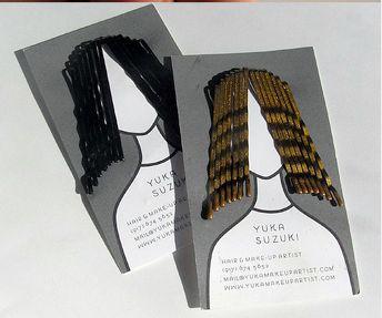 business card for hair stylist