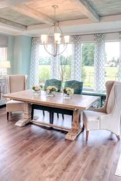 Homearma 2013 - transitional - dining room - louisville - Set The Stage