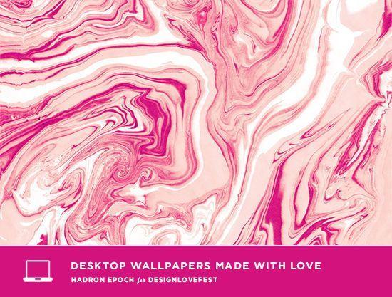 marble desktop wallpapers for dress your tech | designlovefest