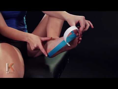 KT Tape - Kinesiology Taping Instructions for Turf Toe