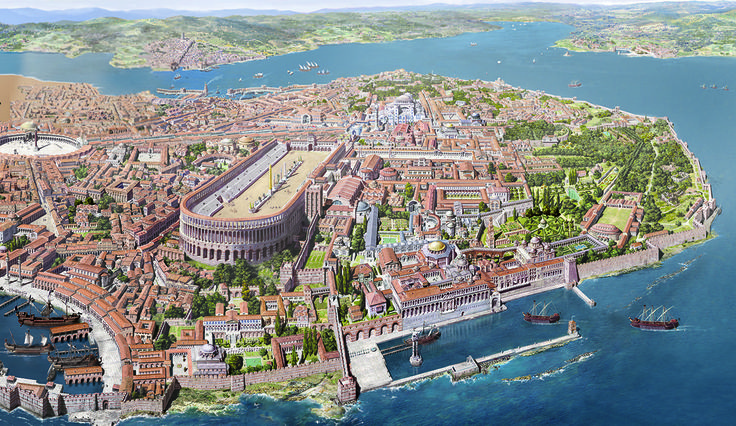 reconstructions of CONSTANTINOPLE
