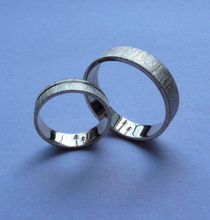 Prstene - Rukou prírody písané obrúčky - 2859626