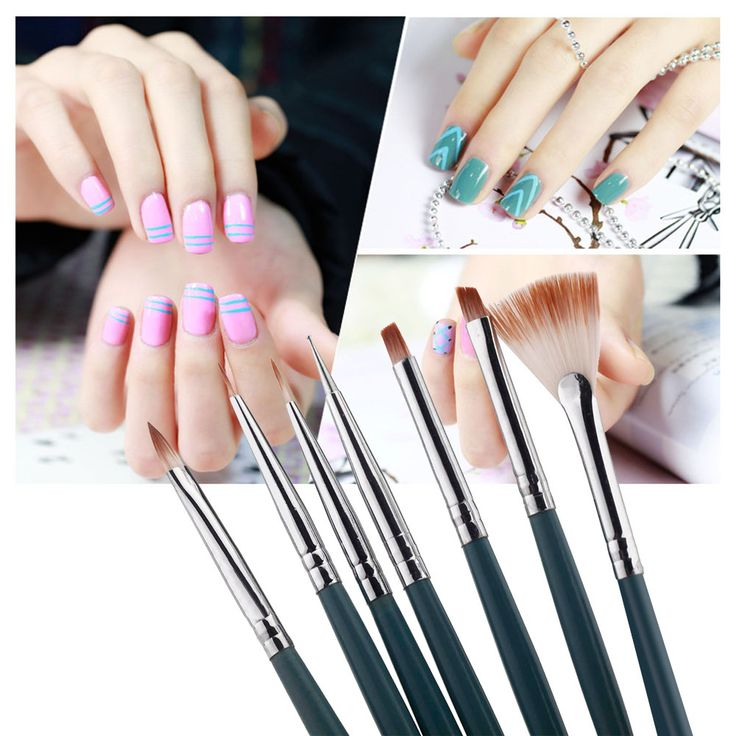 67 best images on pinterest moda 3d nails this set of nail brushes will empower you to give yourself salon quality nail designs in the comfort of your home can be used with gel uv or drug store solutioingenieria Images
