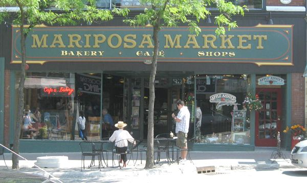 Mariposa Market  Love this coffee/bake shop in Orillia! the place for Sat. AM coffee.