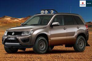 All New Suzuki Grand Vitara Off Road by YogaBudiwCUSTOM