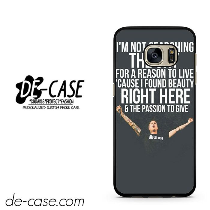Amity Affliction Imnot Searching The Sky DEAL-736 Samsung Phonecase Cover For Samsung Galaxy S7 / S7 Edge
