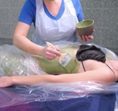 4 Amazing body wrap for weight loss  green clay wrap