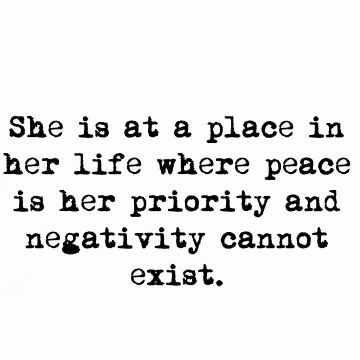 Peace is her priority and negativity cannot coexist♡