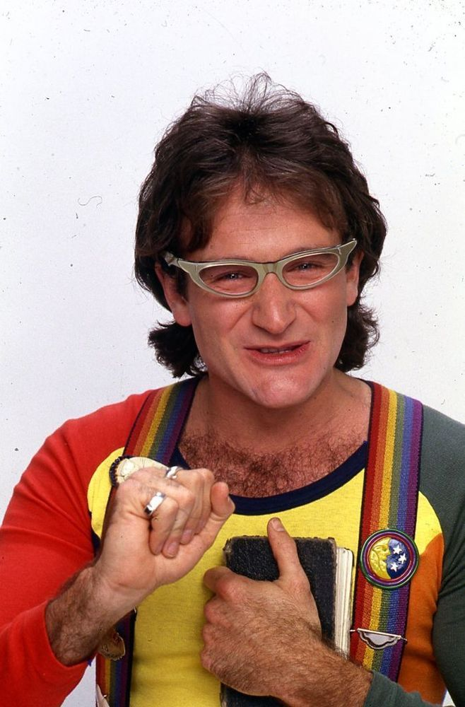 1980, ROBIN WILLIAMS As Mork