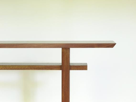 Best Very Narrow Entry Table In 2020 Very Narrow Console Table Handmade Wood Furniture Narrow Console Table