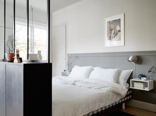 Pequeno espaço inspiração - desde a casa de um estilista sueca