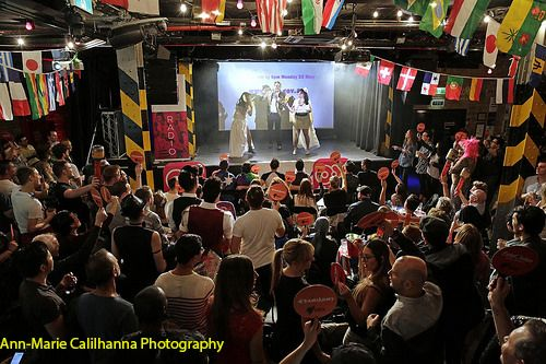 Every year we host a Eurovision Party at the Oxford Art Factory with * 3 BIG SCREENS * HOME OF THE PASTIZZI * BEST DRESSED COMPETITION * TRIVIA. This year it was in Stockholm, Sweden.  Courtesy: http://www.facebook.com/AnnMarieCalilhannaPhotography/?fref=ts