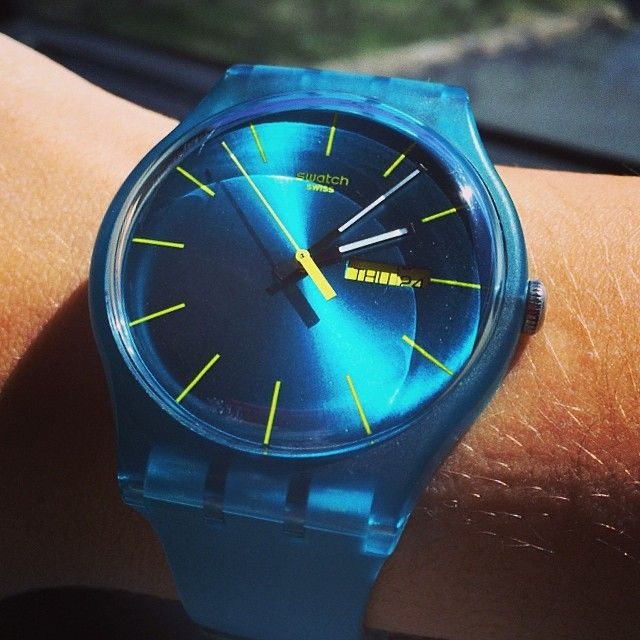 #SwatchAqua Blue, Swatchoftheday Watchoftheday, Meriloli Maria, Watchoftheday Swatches, Swatches Lust, Swatches Hermanassupercool, Instagram Photos, Chaos Watches