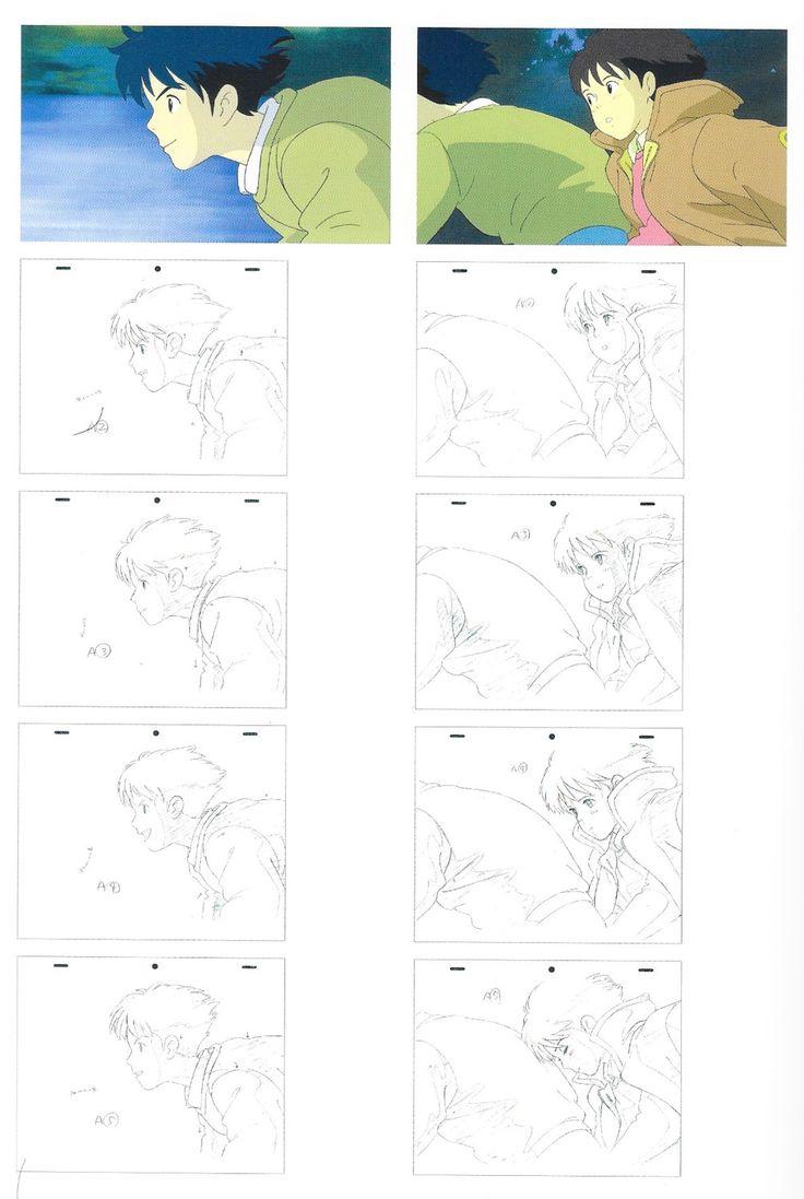 Mejores 13 imágenes de genga en Pinterest | Bocetos, Referencia del ...