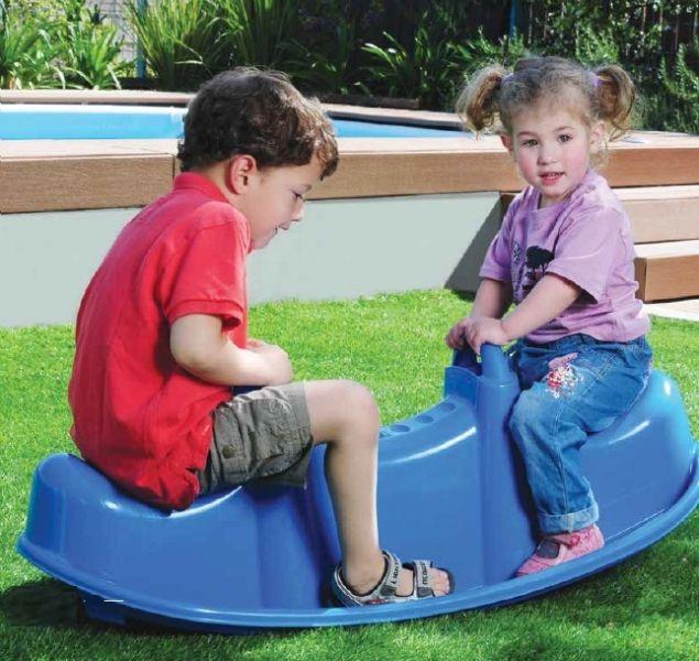 Balansoar copii TRIO Albastru