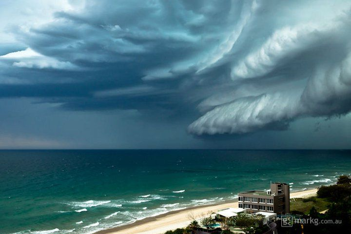 Large Storm Front - Gold Coast Queensland