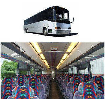 Motor Coach 56 Passenger  Number of Passengers: 56 Motor Coach 56 Passenger with restroom  https://www.niagarafallsbustours.ca