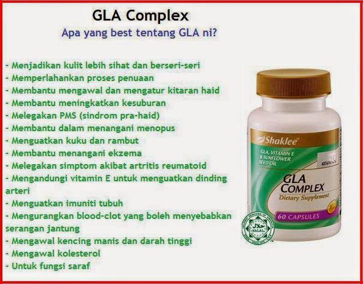 GLA Complex - Teman baik wanita RM91.25 (60 caps)