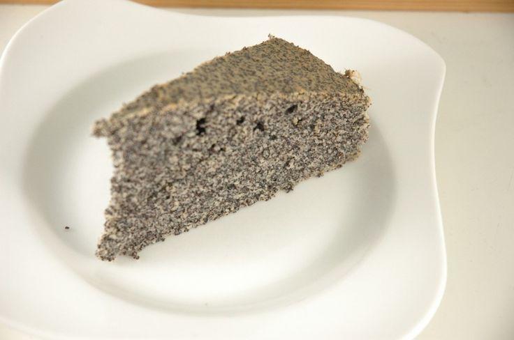 Mohn-Kokosmilch Kuchen