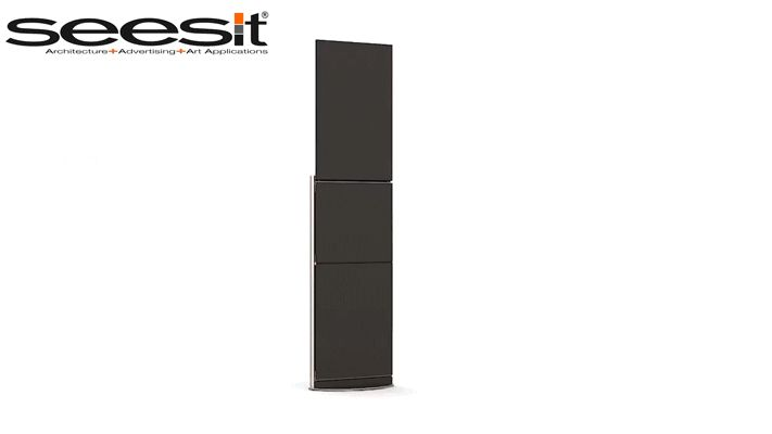 www.seesit.eu Seesit is not a chair is a vertical panel, informative… but is a chair too.  Seesit IS AN INTERNATIONAL PATENT OF INVENTION #artchitecture #design #innovation #patent #homeinterior #advertisingpanel #advertising #streetfurniture #designchair #newproduct #interiordesign #architecture #fashon #luxurydesign #hi-tech #bigespace #raylway #stations #zetachair #famousdesigner #art #outdoor #newproduct