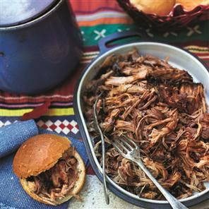 Pulled pork - made this last weekend. Absolutely delicious!