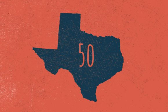 50 States - Hand Illustrated by GhostlyPixels on @creativemarket