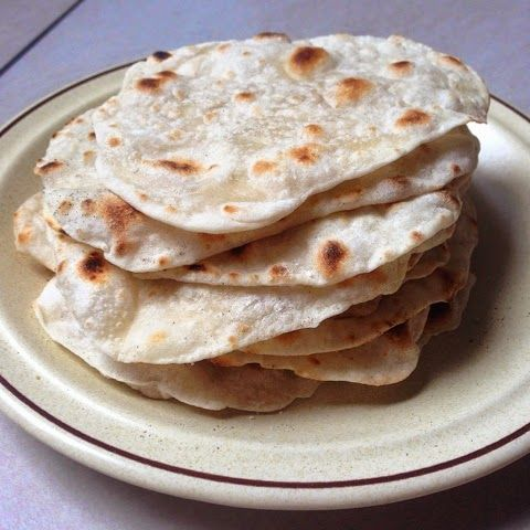 The Flavoursome Journey : Roti - Wrap - Flatbread Don't mistaken, it is not roti canai. It is more like a wrap which is not oily and so much healthier. Going to share with you this cute little roti- Indian flatbread. You can use it to make your tortilla too