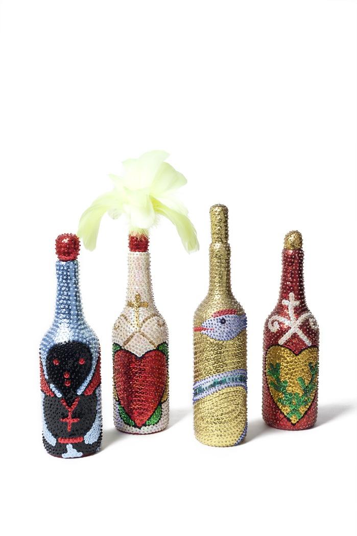 Sequin Vodu Bottles: Axelle