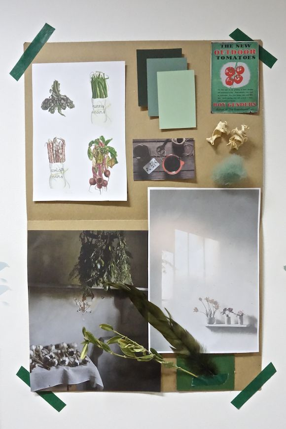 Mood board by Wolves In London | Defining Your Signature Style Workshop, London