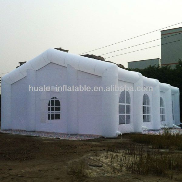 Big white inflatable event tent inflatable party tent for sale