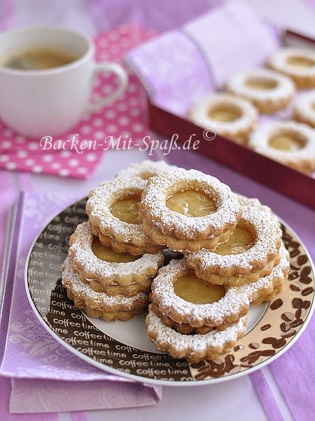 Zitronen-Nuss-Kekse