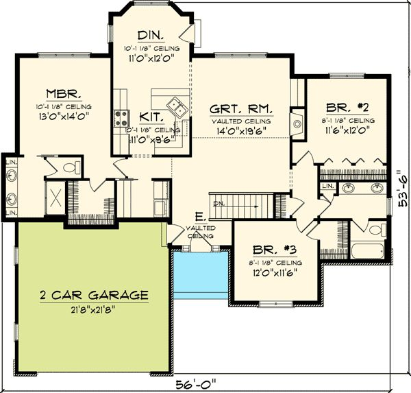 74 best floor plans under 1800 sq ft images on pinterest for 1800 sq ft house plans with walkout basement