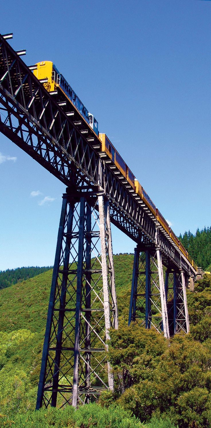 Trovolo - Taieri Gorge Railway #train #scenery #amazing #NewZealand #travel #photography #viaduct