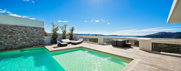 Breathtaking Views, Luxury Property for Sale Pegomas Proche Valbonne, Provence-Alpes-Cote d'Azur, France #Provence #Luxury #RealEstate #JohnTaylor #Pool #View #FrenchRiviera