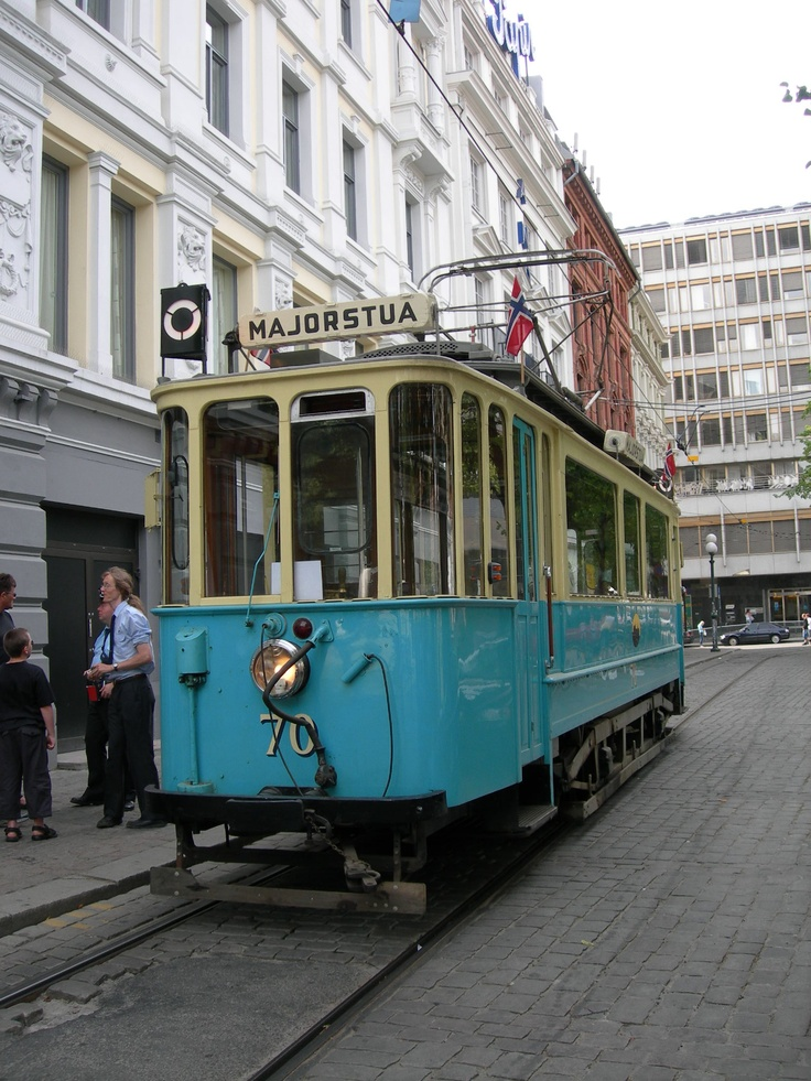 Oslo, Norway. Had my first ever tram ride here many years ago